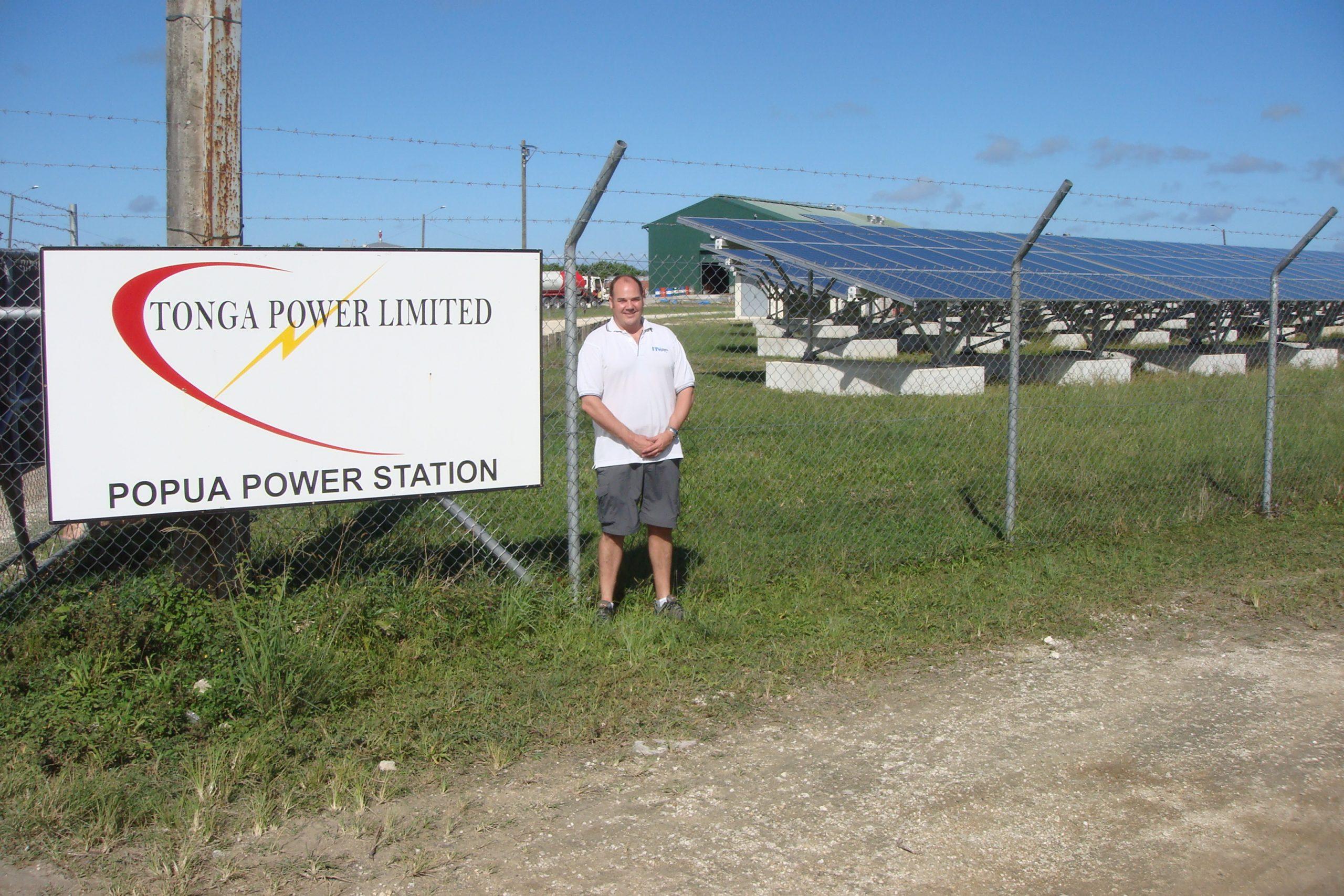 Working for Tonga Power
