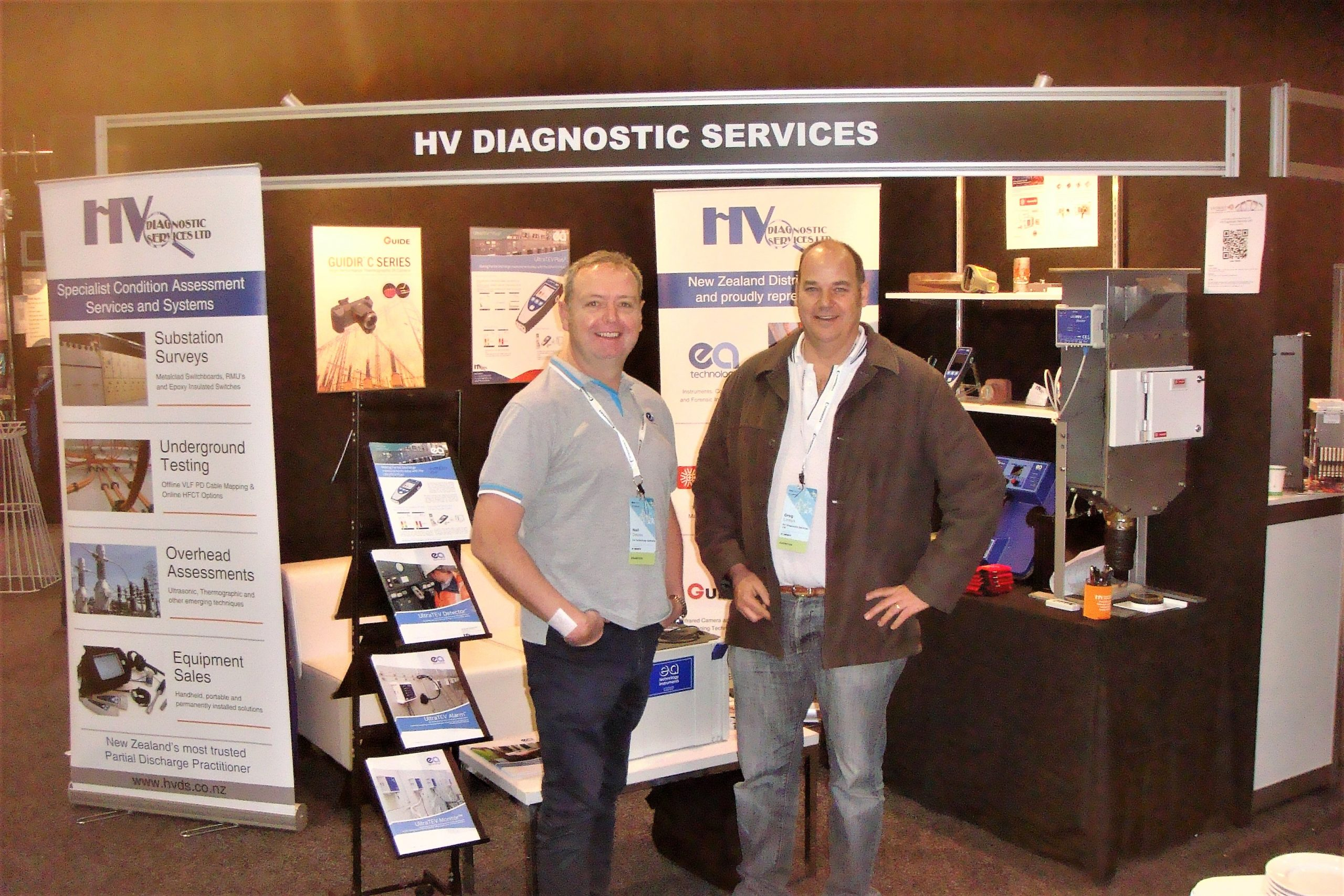Greg & Neil Davies exhibiting at EEA